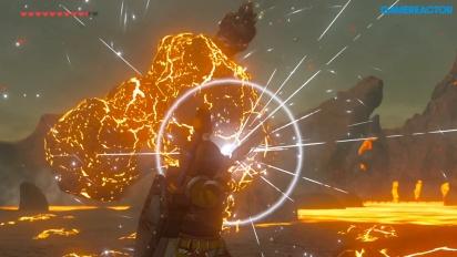 The Legend of Zelda Breath of the Wild - Gamereactor Stunts - Näin piestään Igneo Talus