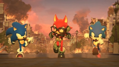 Sonic Forces - Custom Character -traileri