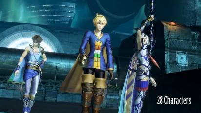 Dissidia Final Fantasy NT - avoimen betan traileri