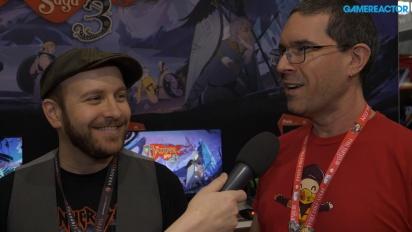 The Banner Saga 3 - Zeb West & Matt Rhoades haastattelussa