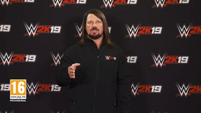 WWE 2K19 - AJ Styles Million Dollar Challenge -traileri