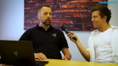 Razer Blade - Thomas Nielsen Dreamhack haastattelussa