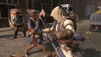 Assassin's Creed III Remastered - Switch-julkistustraileri