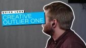 Nopea katsaus - Creative Outlier One