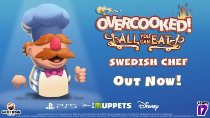 Overcooked! All You Can Eat - Swedish Chef Character Traileri