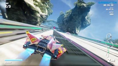 Fast RMX - Cameron Crest Nintendo Switch -pelikuvaa
