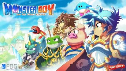 Monster Boy and the Cursed Kingdom - Switchin pelikuvatraileri