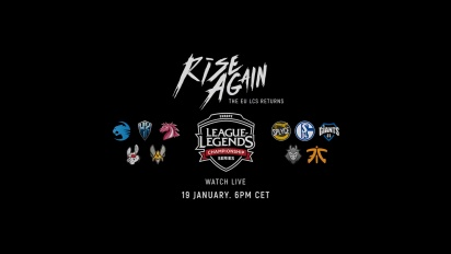 League of Legends - EU LCS kevät 2018 - Rise Again -traileri