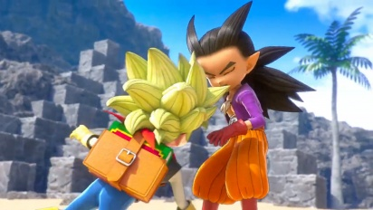 Dragon Quest Builders 2 - Opening Movie (Boy Builder)