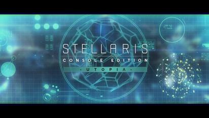 Stellaris: Console Edition - Utopia Expansion: julkaisupäivän paljastus