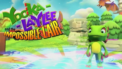 Yooka-Laylee and the Impossible Lair - paljastustraileri