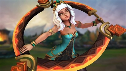 League of Legends - Qiyana: Empress of the Elements Champion -traileri
