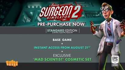 Surgeon Simulator 2 - Surgery Gameplay Traileri