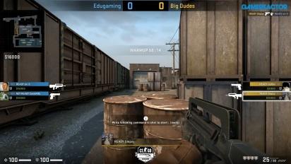 HyperX League 2v2 -  Big Dudes vs Edugaming on Train