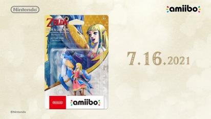The Legend of Zelda: Skyward Sword HD - Zelda & Loftwing amiibo -traileri