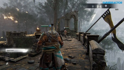 For Honor - Duel Shugoki Peacekeeper Raider Gameplay