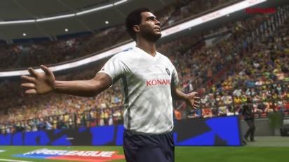 Pro Evolution Soccer 2018 - PES 2018 Romário -traileri