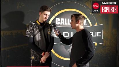 CWL Atlanta - Bance haastattelussa