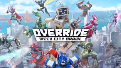 Override: Mech City Brawl - julkaisutraileri