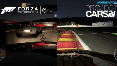 Forza Motorsport 6 ja Project Cars vastakkain yöllä ajettavassa kilpailussa