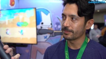 Castle Crashers Remastered - Ian Moreno haastattelussa