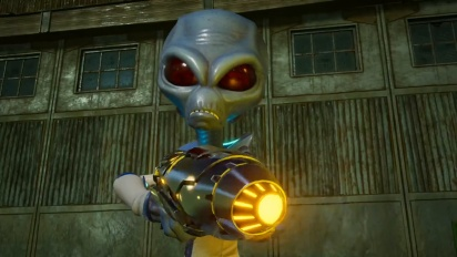 Destroy All Humans! - Fun with Alien Guns Traileri