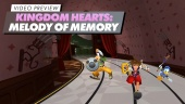 Kingdom Hearts: Melody of Memory - Video Preview