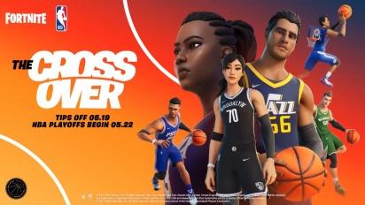 The NBA Arrives In Fortnite - traileri
