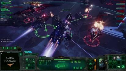 Battlefleet Gothic: Armada -selostettu pelikuvatraileri
