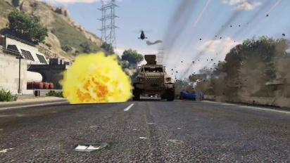 Grand Theft Auto V - GTA Online - Free Roam Update Trailer