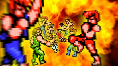 Double Dragon IV - Nintendo Switch -traileri