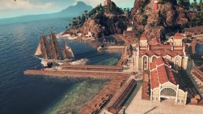 Anno 1800 - Gamescom - julkaisupäivän traileri