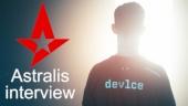 Astralis - Dev1ce haastattelussa