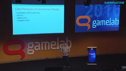 Hugo Martin - Entertainment Design Gamelab -esitys