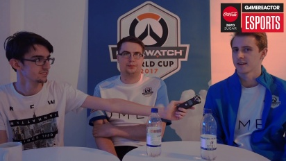 Overwatch - UK Overwatch World Cup -joukkuehaastattelu