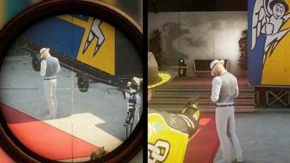Hitman 2 - Ghost Mode -pelikuvan paljastustraileri