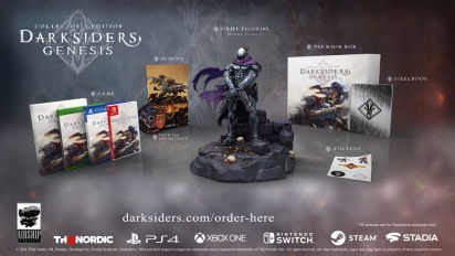 Darksiders Genesis - Collector's Edition -traileri