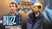 Hearthstone - Descent of Dragon - BlizzCon-haastattelu