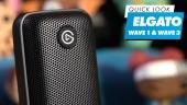 Nopea katsaus - Elgato Wave 1 & Wave 2