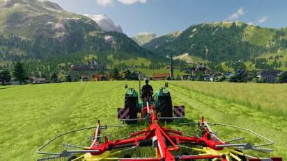 Farming Simulator 19 - Alpine Farming Expansion Gameplay Traileri