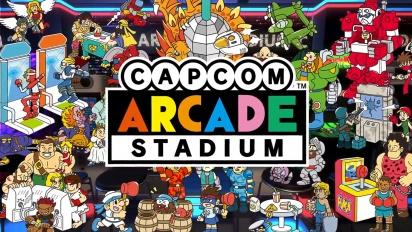 Capcom Arcade Stadium - Feature Traileri
