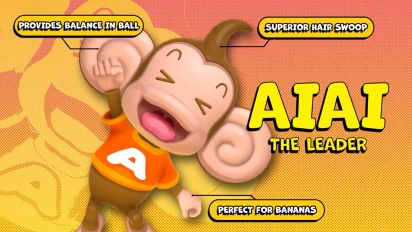 Super Monkey Ball Banana Mania - Meet the Gang -traileri