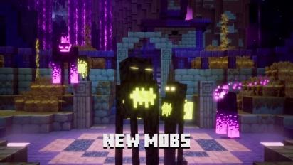 Minecraft Dungeons - Echoing Void -julkaisutraileri