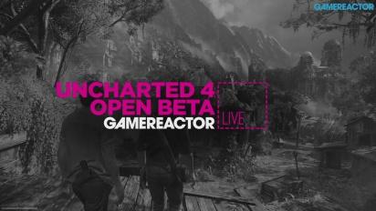 Uncharted 4 Avoin beta - livestriimaus