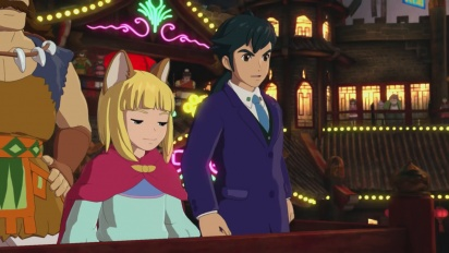 Ni No Kuni II: Revenant Kingdom - The Mysterious Traveller -traileri