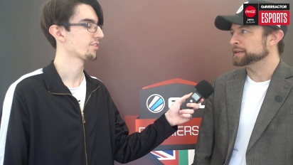 ESL UK Premiership Finals - Chris Place haastattelussa