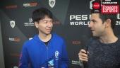 PES League Berlin - Champion Naoki 'Sofia' Sugimura haastattelussa