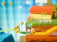 Yoshi's Crafted World - Ribbon Level Poochy -pelikuvaa