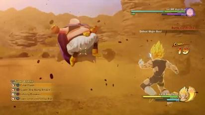 Dragon Ball Z: Kakarot - Pelikuvatraileri Vegetasta