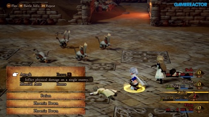 Bravely Default II - Demo Gameplay
